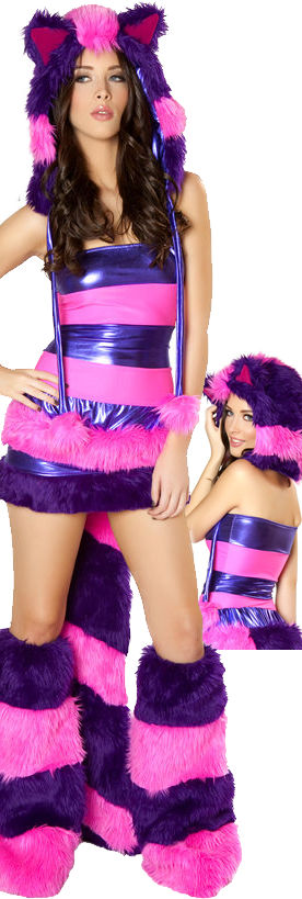 コスチューム LJVCS122-CS123 Cheshire Cat Costume with Hood