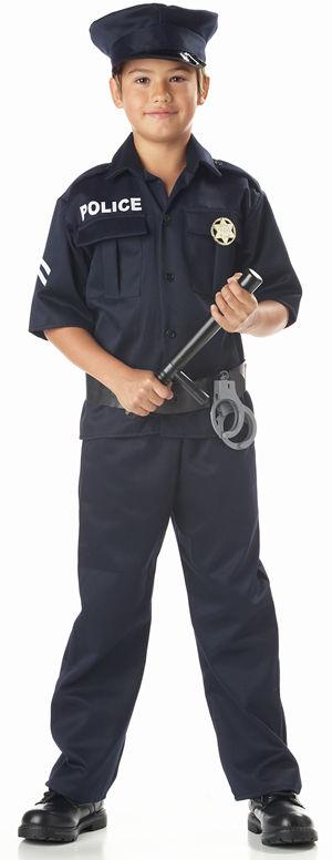 コスチューム LCC00343 Police Child Costume