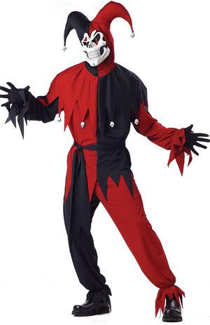 コスチューム LCC00746 Evil Jester Costume