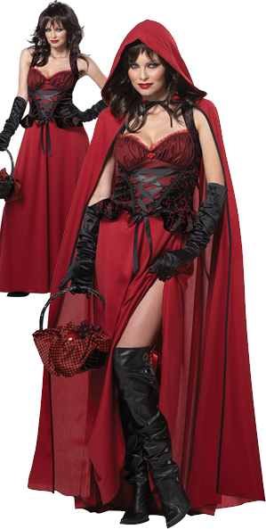 コスチューム LCC01185 Dark Red Riding Hood Costume