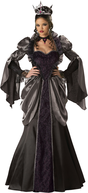 コスチューム LIC1056 Wicked Queen Costume