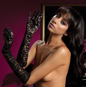 コスチューム LST40111 Lace Elbow Length Gloves