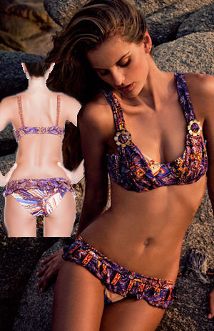 輸入水着 LABAF50613G1 Lanza Underwire Bikini