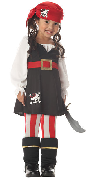 コスチューム LCC00075 Precious Little Pirate Toddler Costume