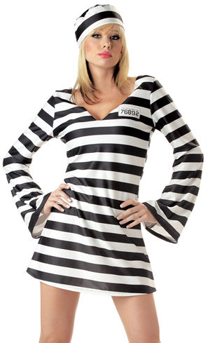コスチューム LCC00784 Convict Chick Costume