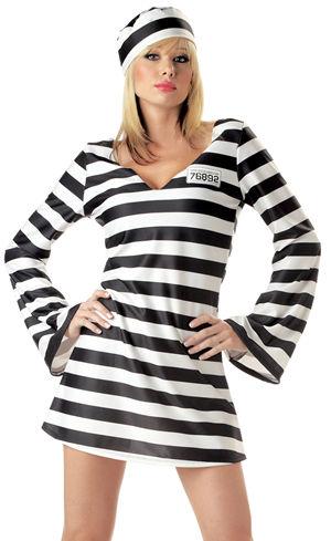コスチューム LCC00784 Convict Chick Costume