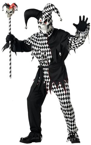 コスチューム LCC00928 Evil Jester Costume