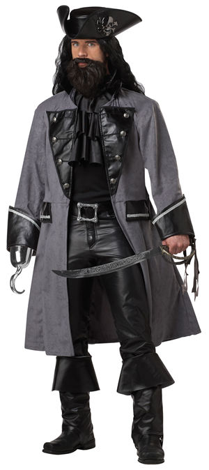 コスチューム LCC01131 Blackbeard The Pirate Costume