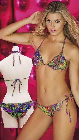輸入水着 LPRELEC10 Electro Triangle Bikini