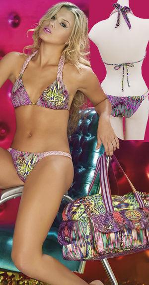 輸入水着 LPRDISC10 Disco Diva Triangle Bikini