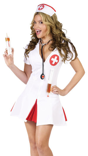 コスチューム LFU122144 Say Ahhh! Nurse Costume