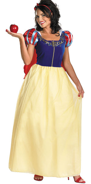 コスチューム LDS50491 Snow White Deluxe Adult Costume