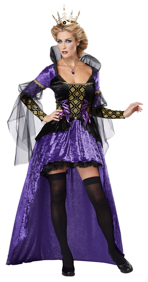 コスチューム LCC01256 Wicked Queen Costume