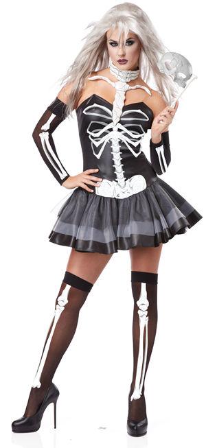 コスチューム LCC01128 Skeleton Masquerade Costume