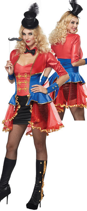 コスチューム LCC01165 Ringmaster Costume
