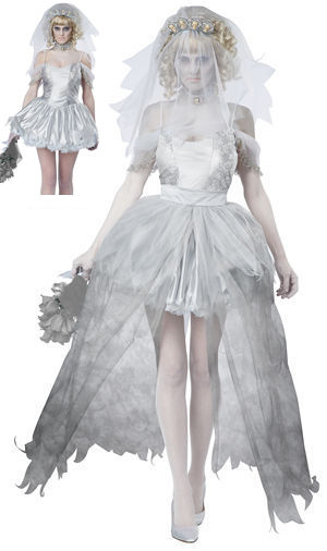 コスチューム LCC01287 Ghostly Bride Costume