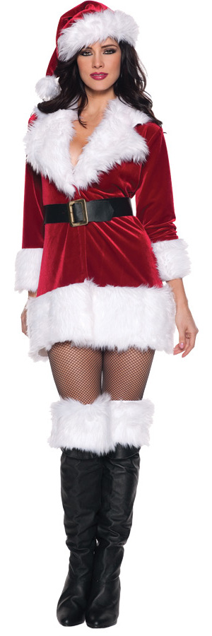 コスチューム LUW29215 Secret Santa Costume