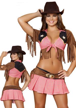 コスチューム LRB4425-H4424 2pc Sassy Cowgirl Costume