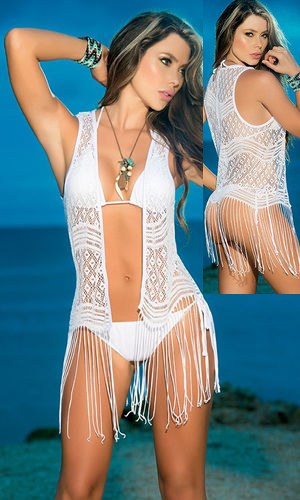 輸入水着 LEP7735 Mini Cover-Up and Beach Dress