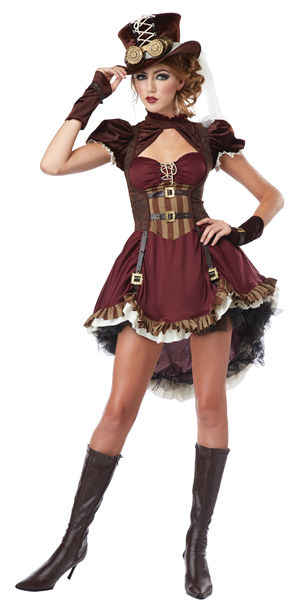コスチューム LCC01281 Steampunk Girl Costume