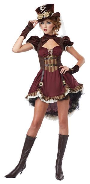 コスチューム LCC01281 Steampunk Girl Costume