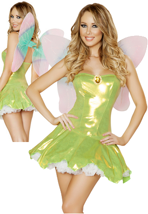 コスチューム LRB4545 2pc Feisty Fairy Costume