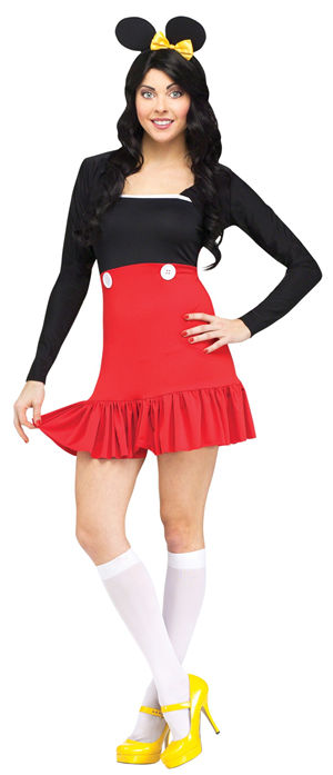 コスチューム LFU123764 Miss Mickey Costume
