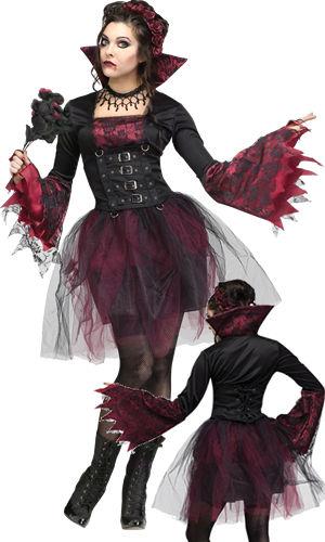 コスチューム LFU123404 Goth Rose Vampira Costume