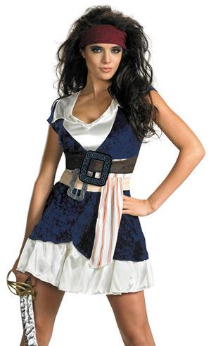 コスチューム LDS29842 Sassy Jack Sparrow Costume