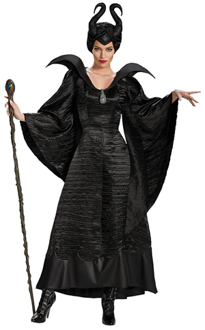 コスチューム LDS71825 Maleficent Christening Adult Deluxe Costume