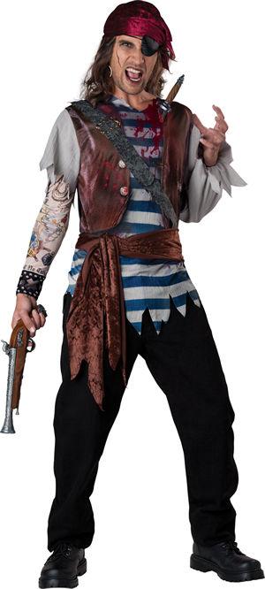コスチューム LIC11069 Dead Mans Chest Costume