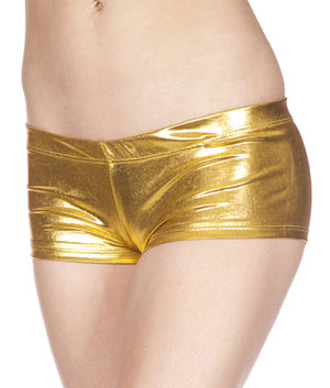ダンス衣装 LML140 Metallic Mini Boy Shorts