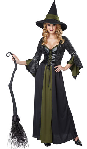 コスチューム LCC01350 Classic Witch Costume