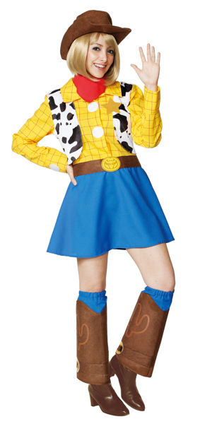 コスチューム JRU95309 Costume Adult Woody For Woman