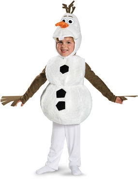 コスチューム LDS84654 Olaf Deluxe Toddler Costume
