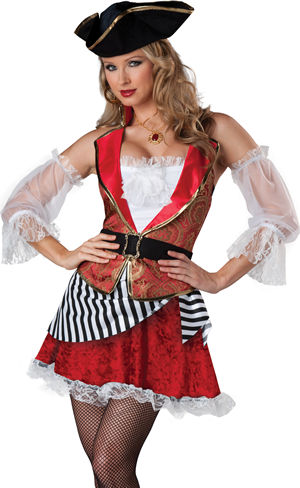コスチューム LIC11075 Pretty Pirate Costume