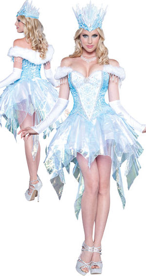 コスチューム LIC8036 Sexy Snow Queen Costume