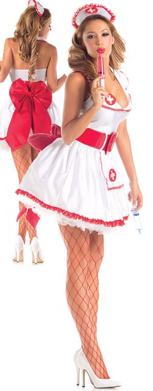 コスチューム LPKPK308 Naughty Nurse Costume
