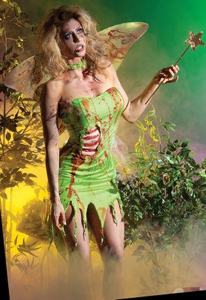 コスチューム LPKPK224 Pixie Zombie Costume