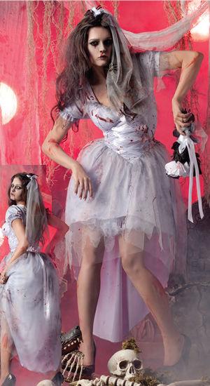 コスチューム LPKPK181 Zombie Bride Costume