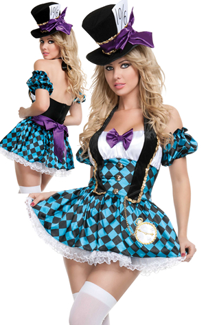 コスチューム LSNS2108 Mad Hatter Costume