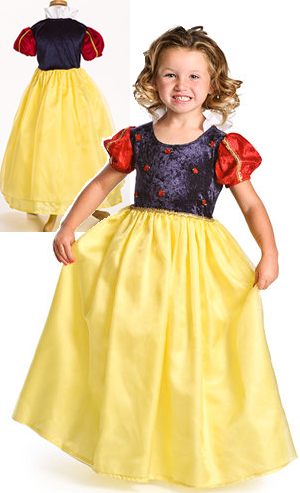 コスチューム LAD12051 Kids Deluxe Snow White Costume