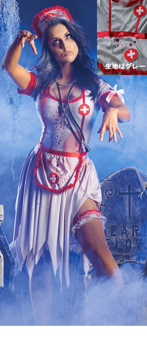 コスチューム LPKPK170 Zombie Nurse Costume