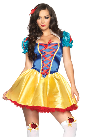 コスチューム LLA85516-8990 Fairytale Snow White Costume with Petticoat