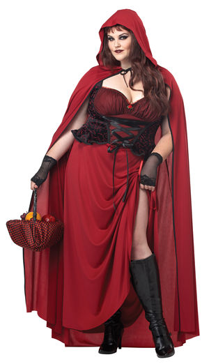 コスチューム LCC01719 Dark Red Riding Hood Costume