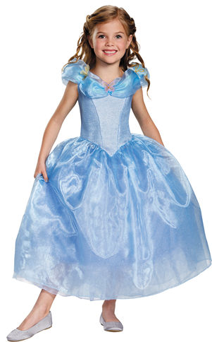 コスチューム LDS87063 Cinderella Movie Deluxe Child Costume