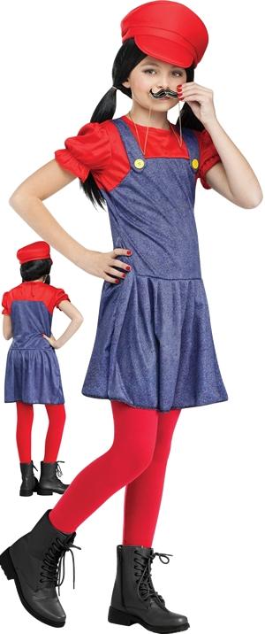 コスチューム LFU110832R Pretty Plumber Girl Costume