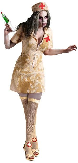 コスチューム LFU121304 Zombie Nurse Costume