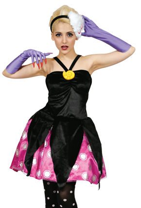 コスチューム JRU95318 Costume Adult Ursula