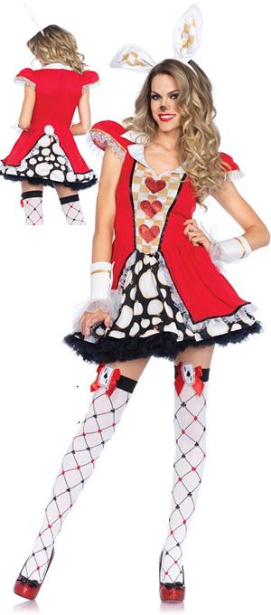 コスチューム LLA85447-8990-6214 Tick Tock White Rabbit Costume Set